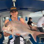 Man caught Large Golden Trevally in Summer 2018-2019