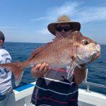 Man caught a Big Snapper in Summer 2018-2019