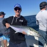 Boy caught a King George Whiting Fish