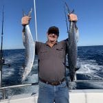 Man caught two King George Whiting Fishes in Autumn 2019