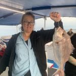 Snapper Fish caught by a Lady in Autumn 2019