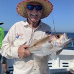 Man caught a Snapper in Autumn 2019