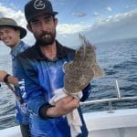 Man caught a Fish in Autumn 2019 Fishing Tour