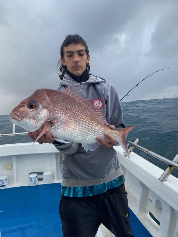 Reef Fish caught by a Man in Autumn-Winter 2020