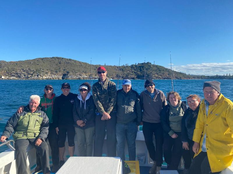 Fishing Tourist Group in Evans Head